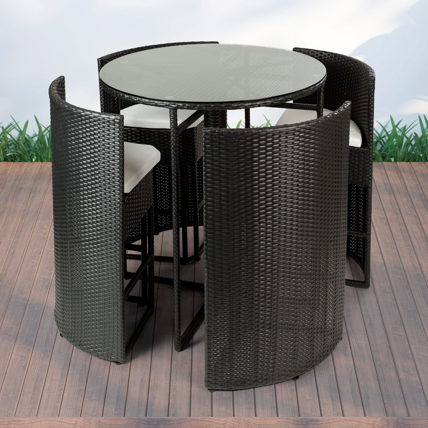 Rattan Bar-Set Menorca